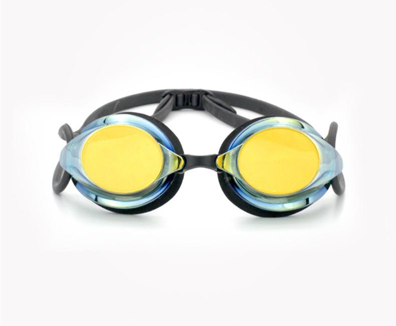 英发男女儿童近视专业竞速潜水泳镜套装