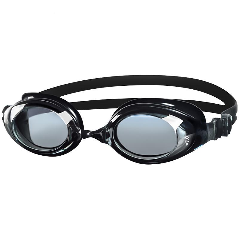 黑貂男女防雾高清大框游泳镜