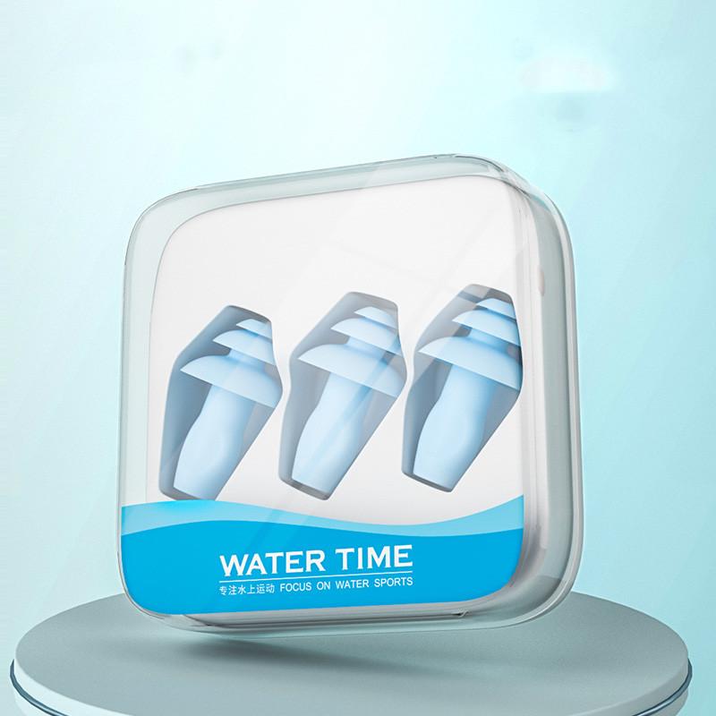 WaterTime游泳防水耳塞鼻夹洗澡专业耳朵防进水神器套装儿童成人