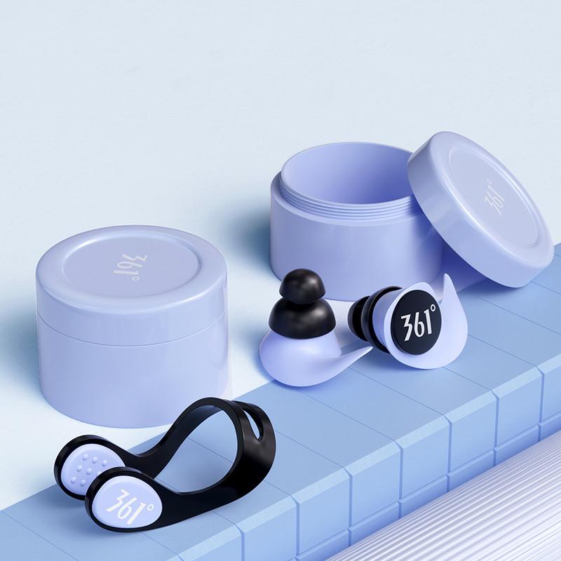 361游泳鼻夹耳塞专业防水神器儿童硅胶防呛水防滑鼻夹神器装备