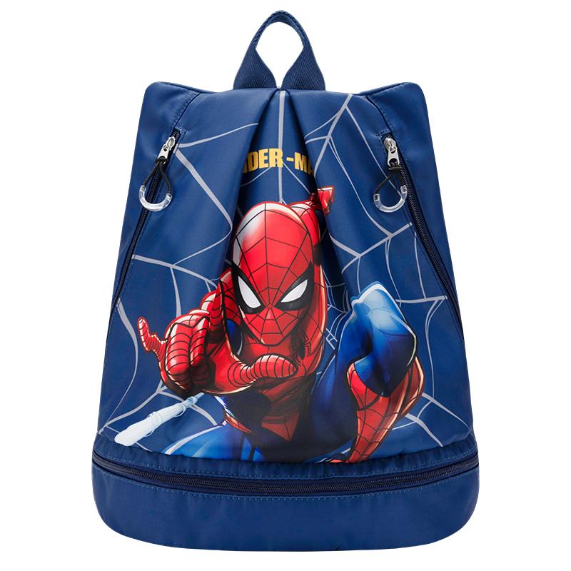 迪士尼泳包儿童干湿分离游泳包男女便携防水收纳袋子旅行沙滩包